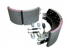 Lined Brake Shoe Wheel End Kits